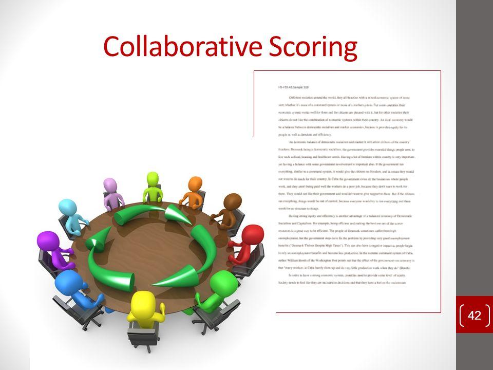 Collaborative Scoring