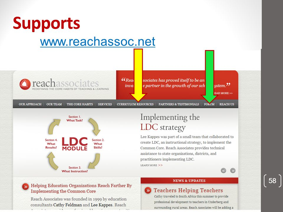 Supports www.reachassoc.net