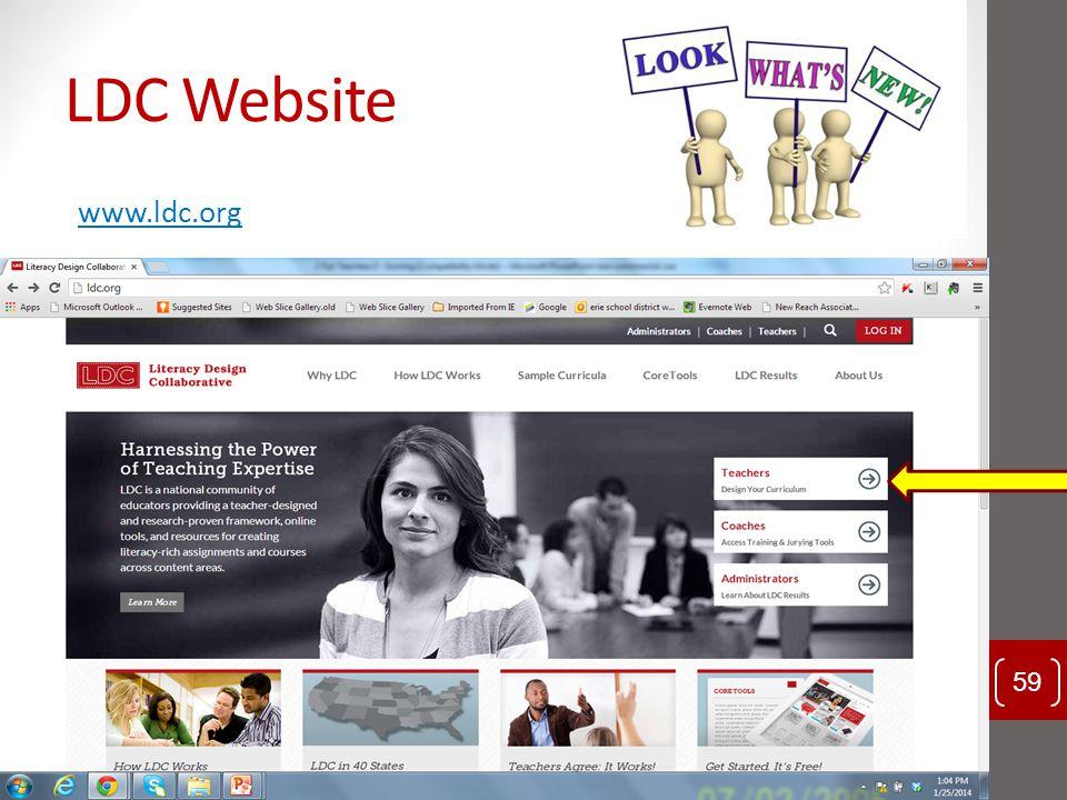 LDC Website www.ldc.org Should we be doing website and coretools