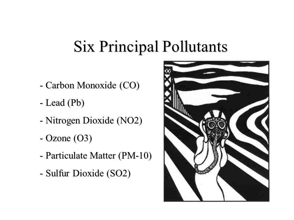 Six Principal Pollutants