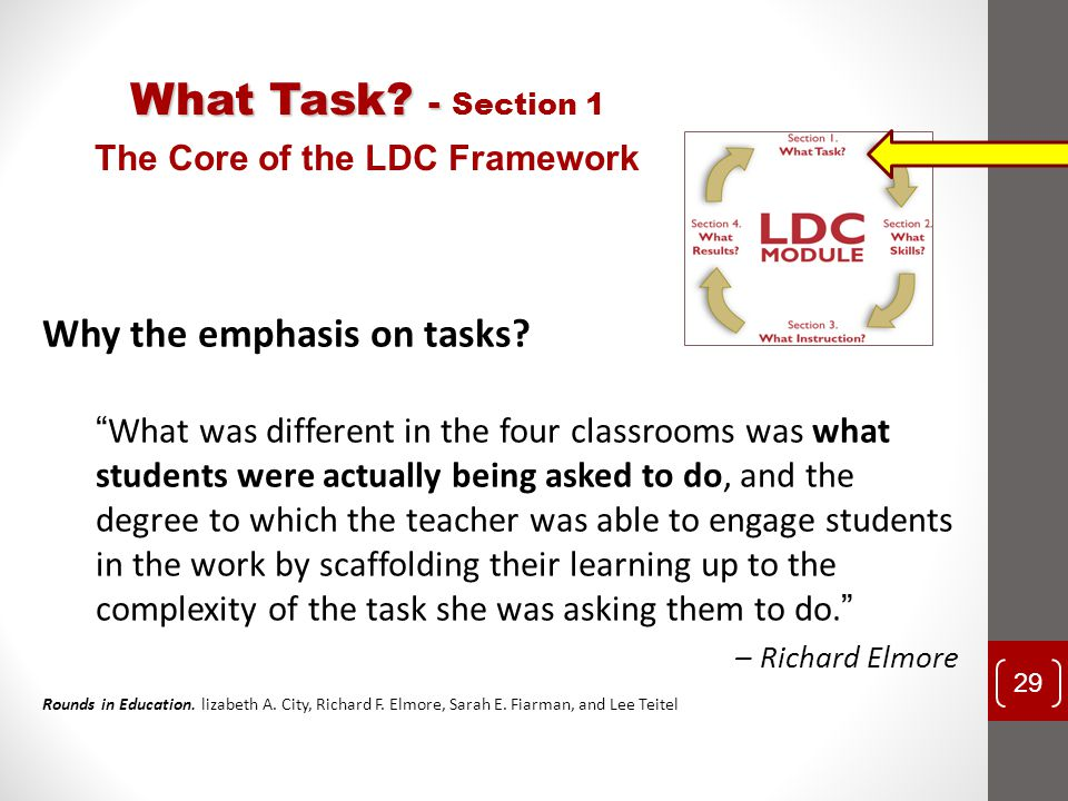 The Core of the LDC Framework