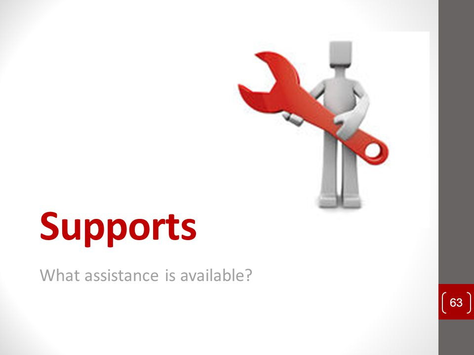What assistance is available
