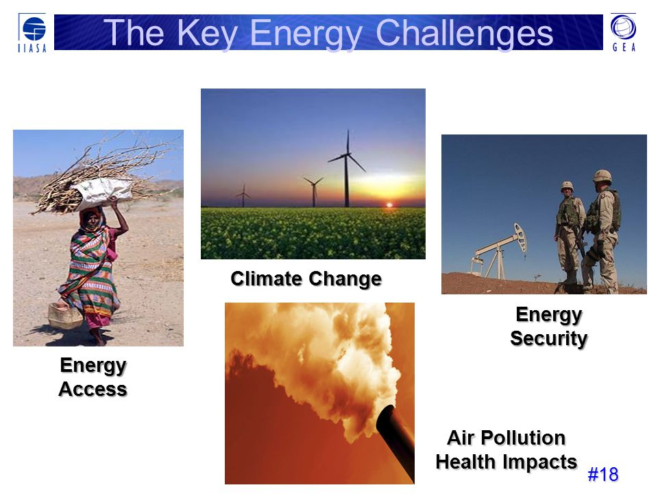 The Key Energy Challenges