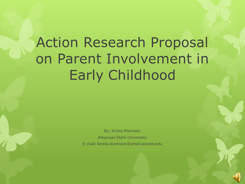 action researching documents about parental effort through education