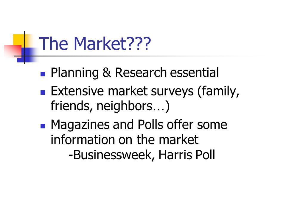 The Market Planning & Research essential