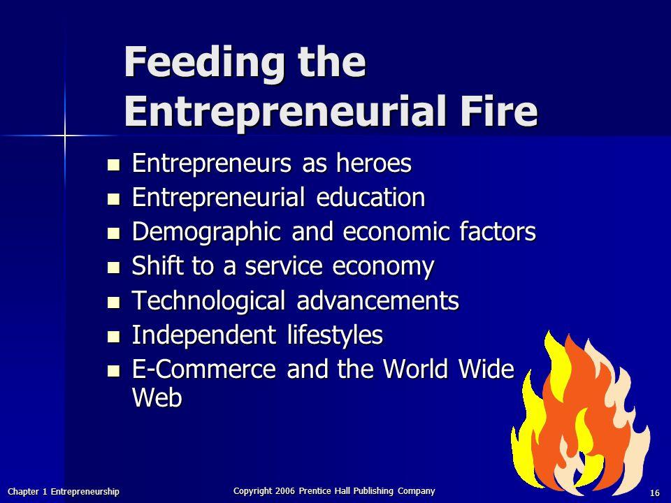 Feeding the Entrepreneurial Fire