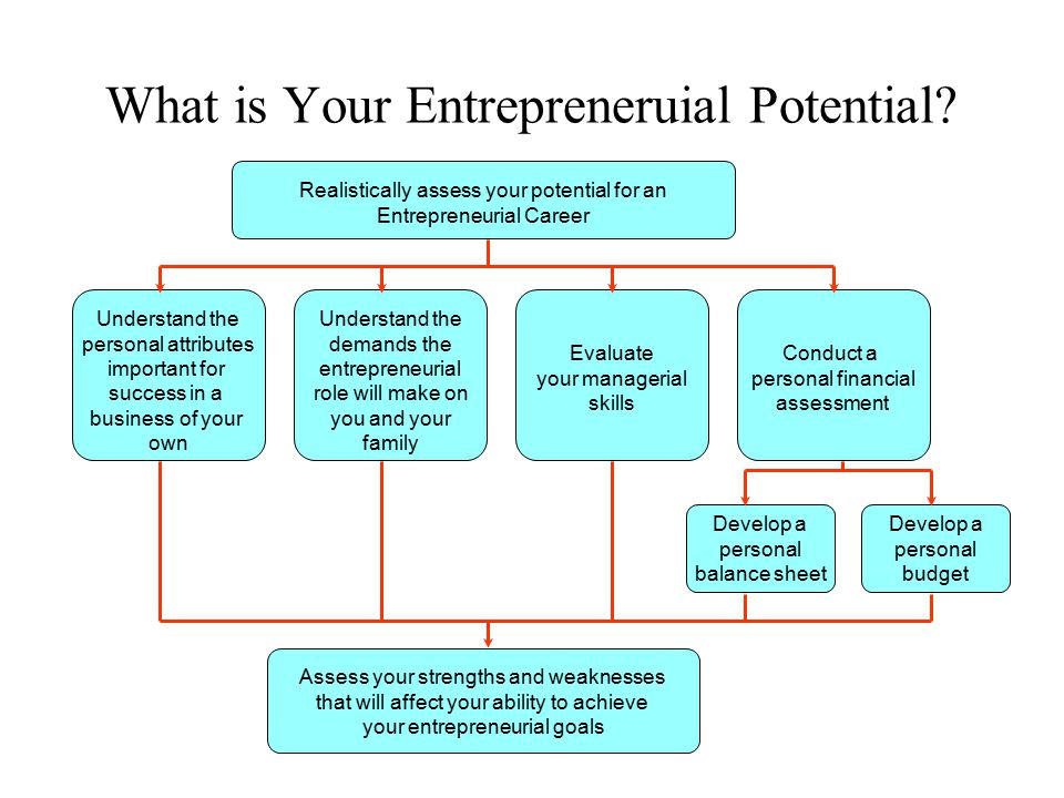 What is Your Entrepreneruial Potential