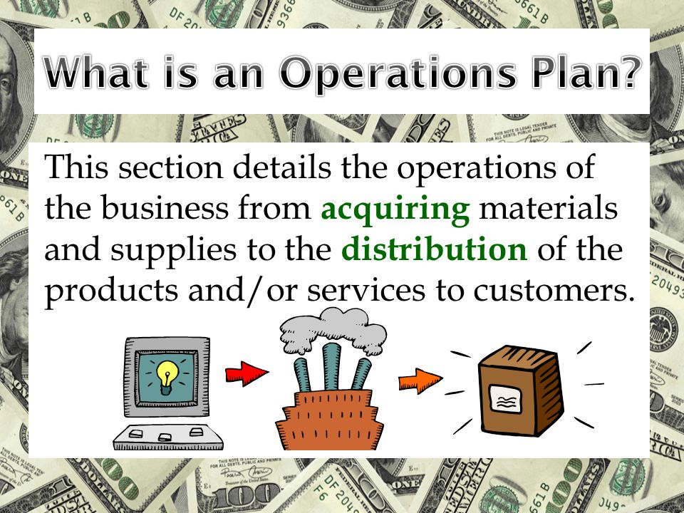 What is an Operations Plan