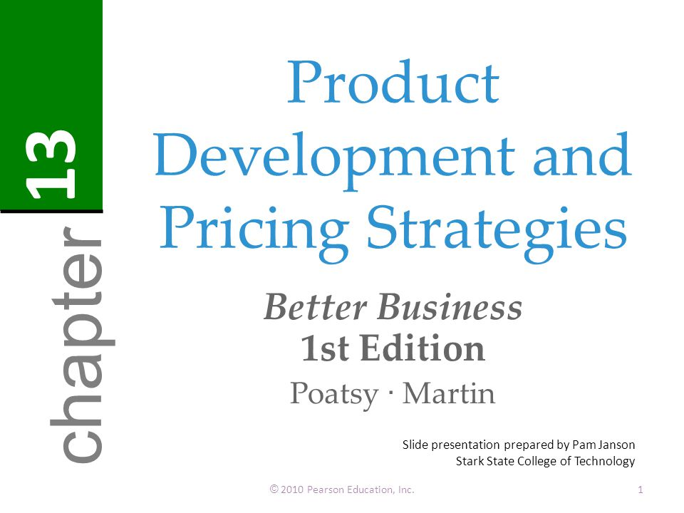 Product development and pricing strategies ppt download for Product development inc