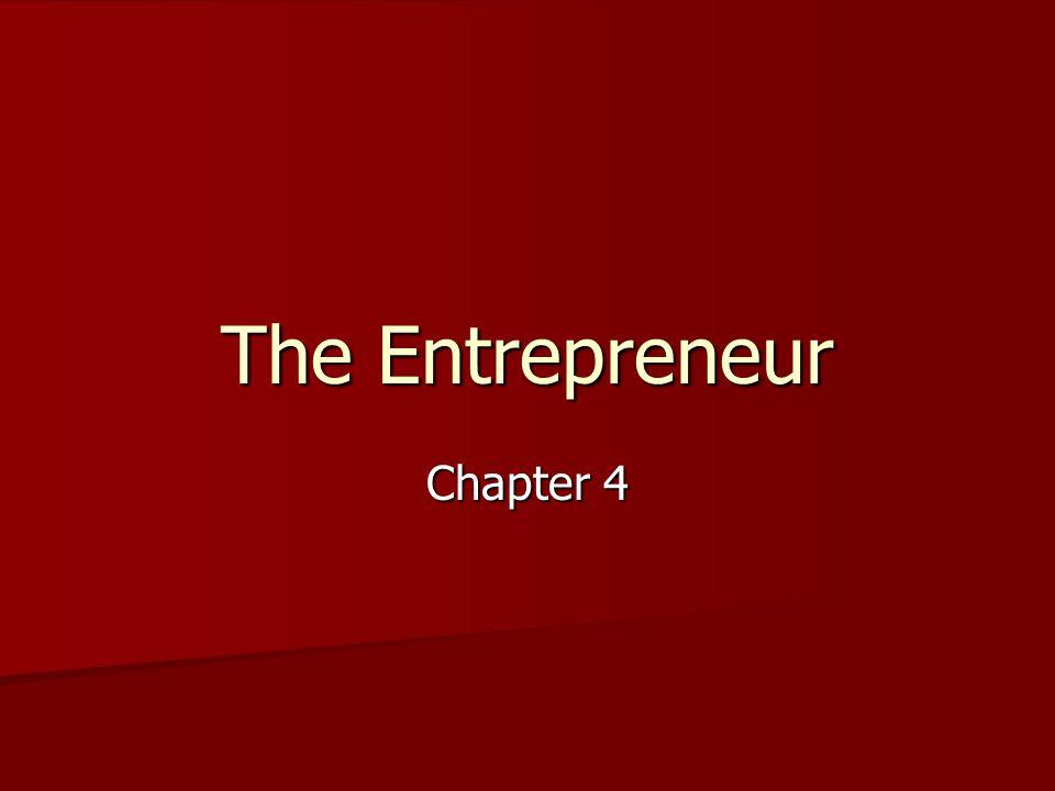 The Entrepreneur Chapter 4