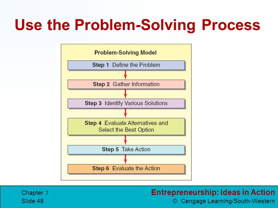 Use the Problem-Solving Process