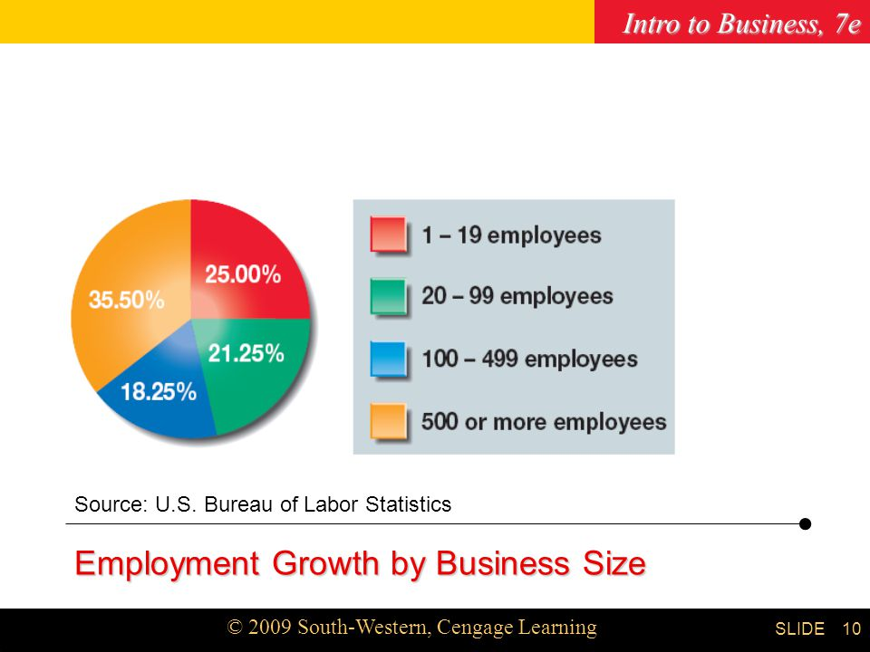 Employment Growth by Business Size