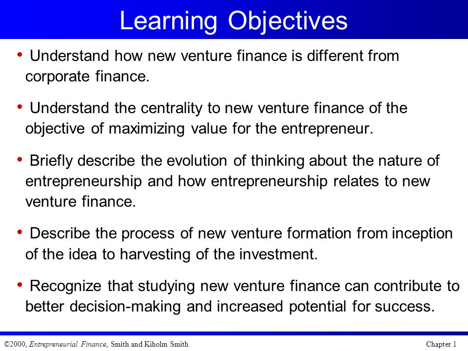 objectives in corporate finance Finance for executives provides executives with a comprehensive introduction to accounting and financial analysis.