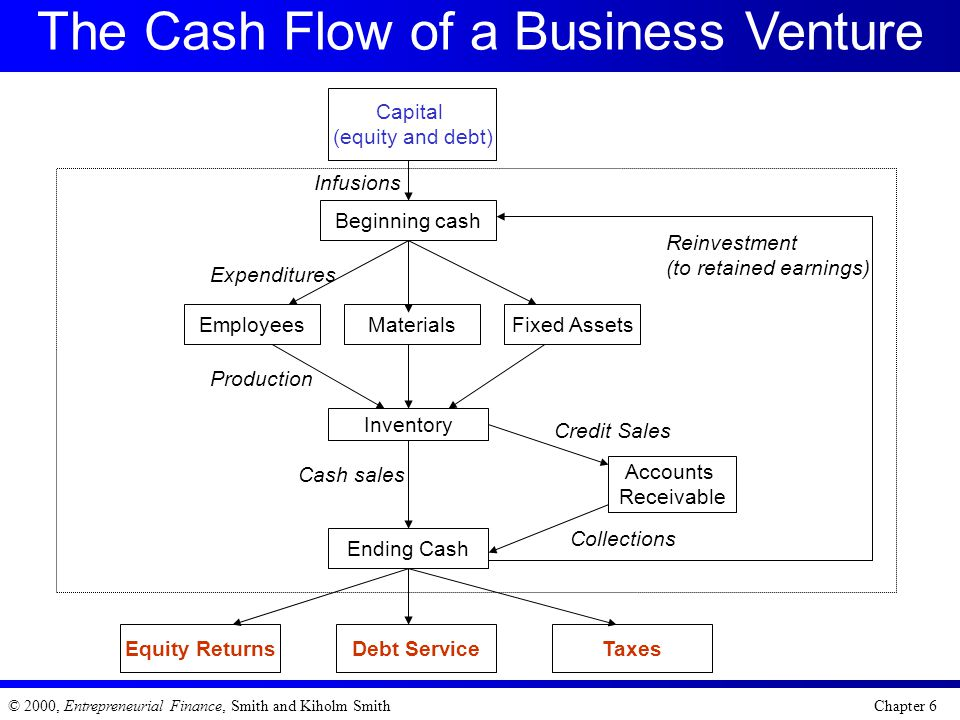 The Cash Flow of a Business Venture