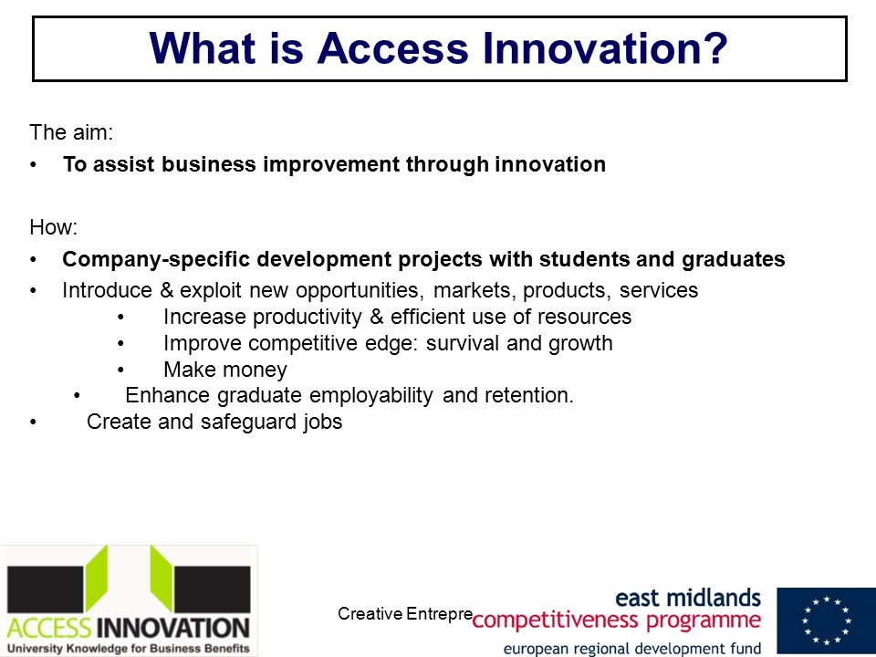 What is Access Innovation