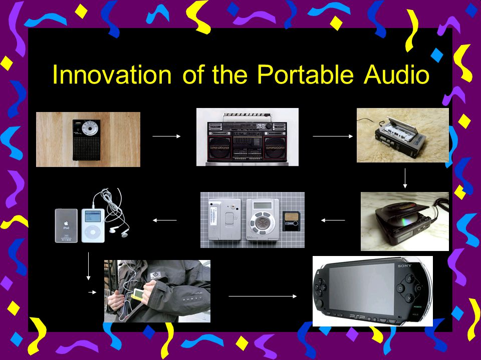 Innovation of the Portable Audio