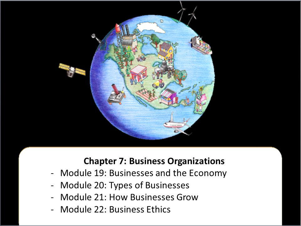 Chapter 7: Business Organizations