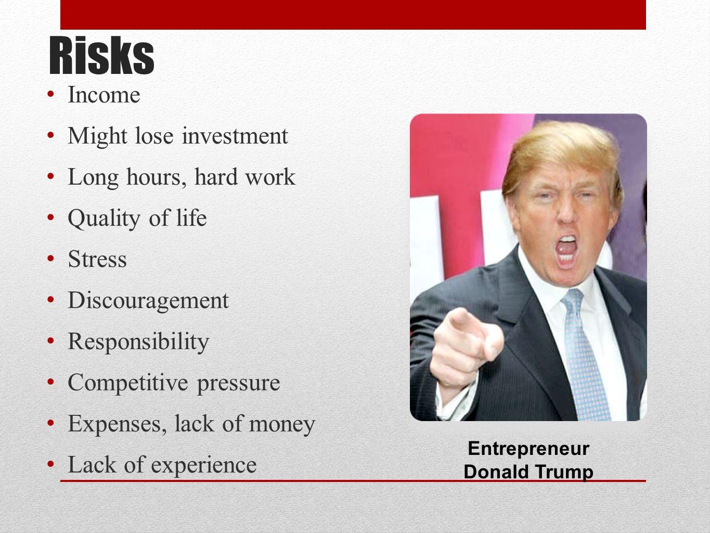 Entrepreneur Donald Trump