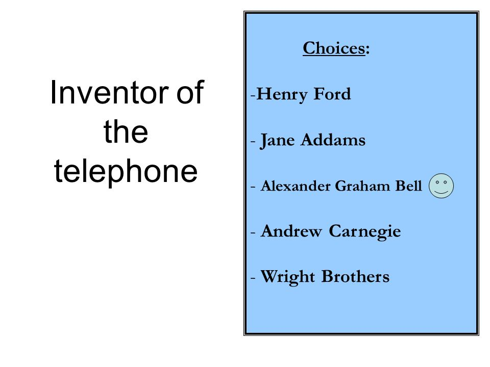 Inventor of the telephone