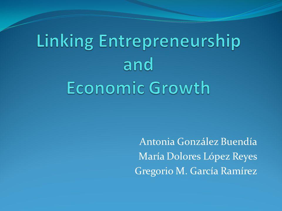 Linking Entrepreneurship and Economic Growth