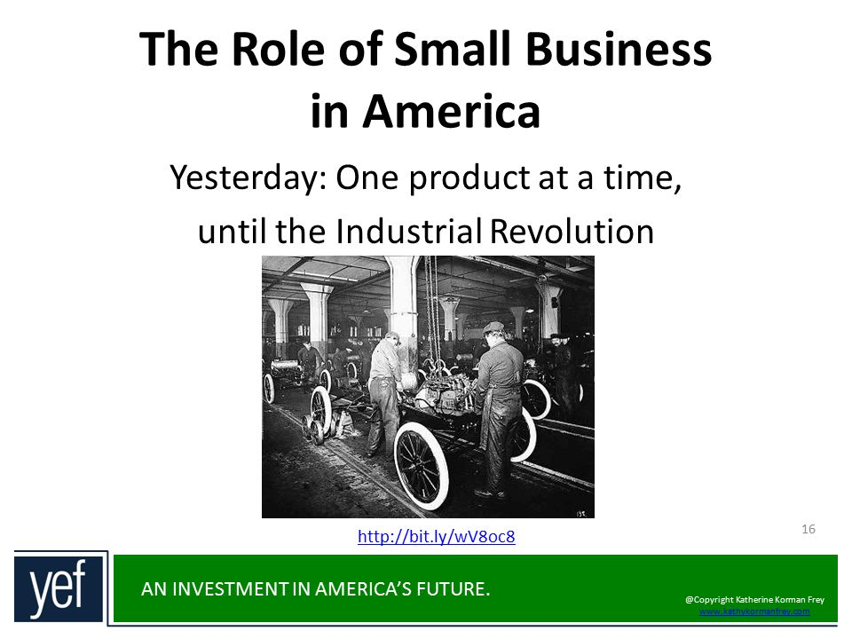 The Role of Small Business in America