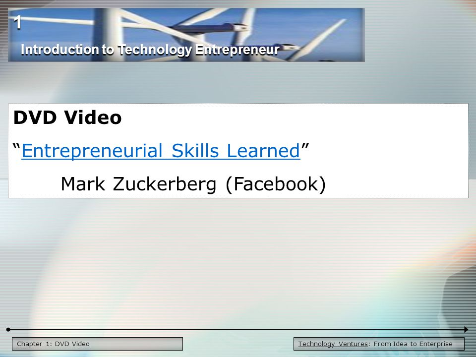 Entrepreneurial Skills Learned Mark Zuckerberg (Facebook)
