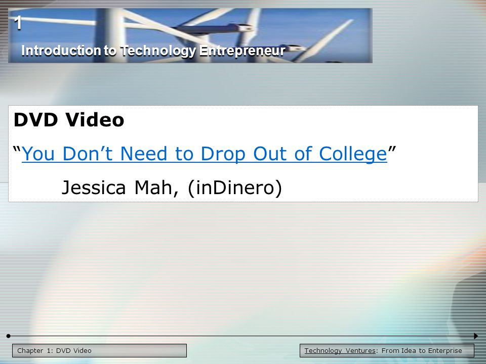 You Don't Need to Drop Out of College Jessica Mah, (inDinero)