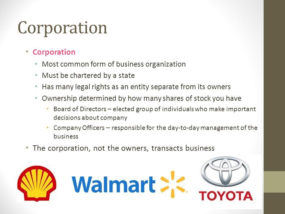 Corporation Corporation