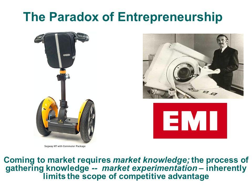 The Paradox of Entrepreneurship