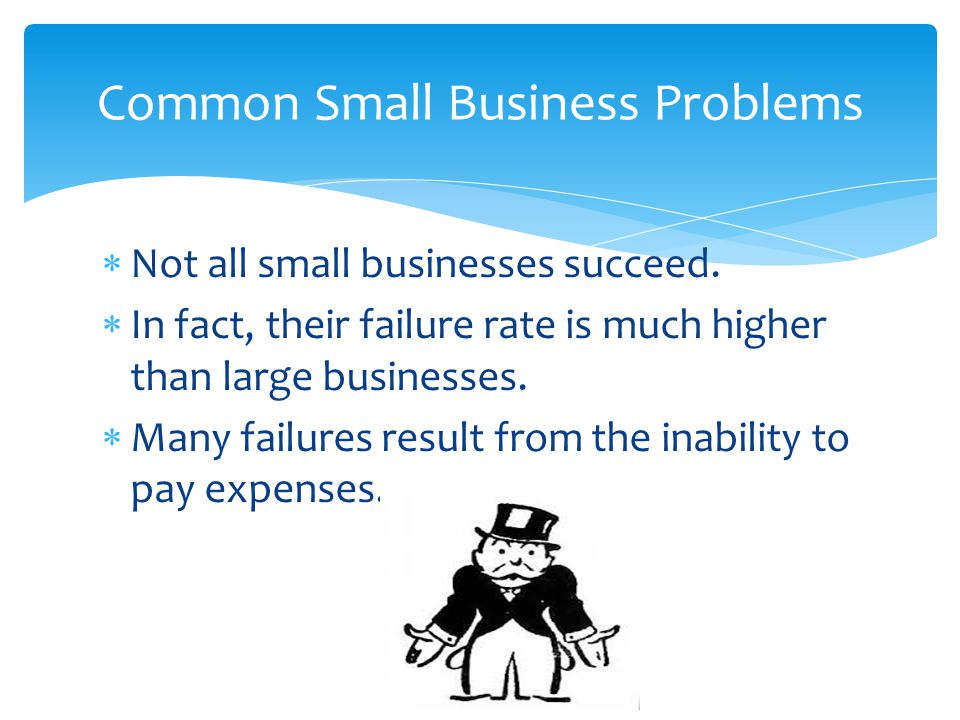 Common Small Business Problems