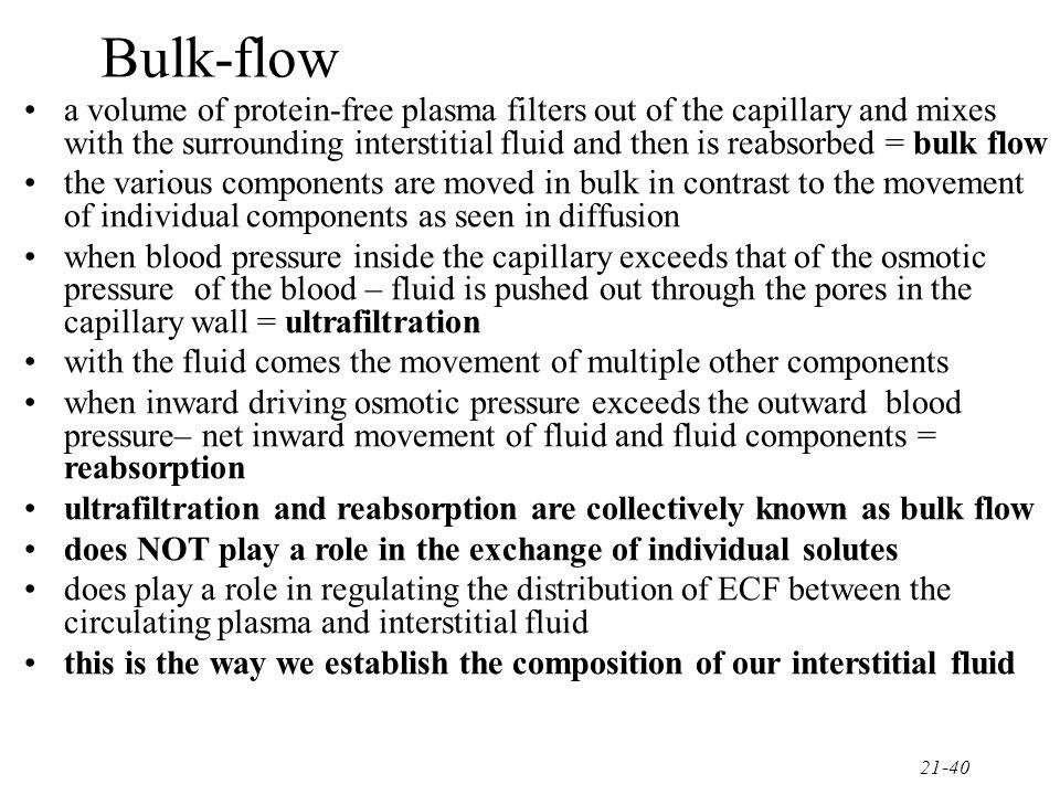 Bulk-flow