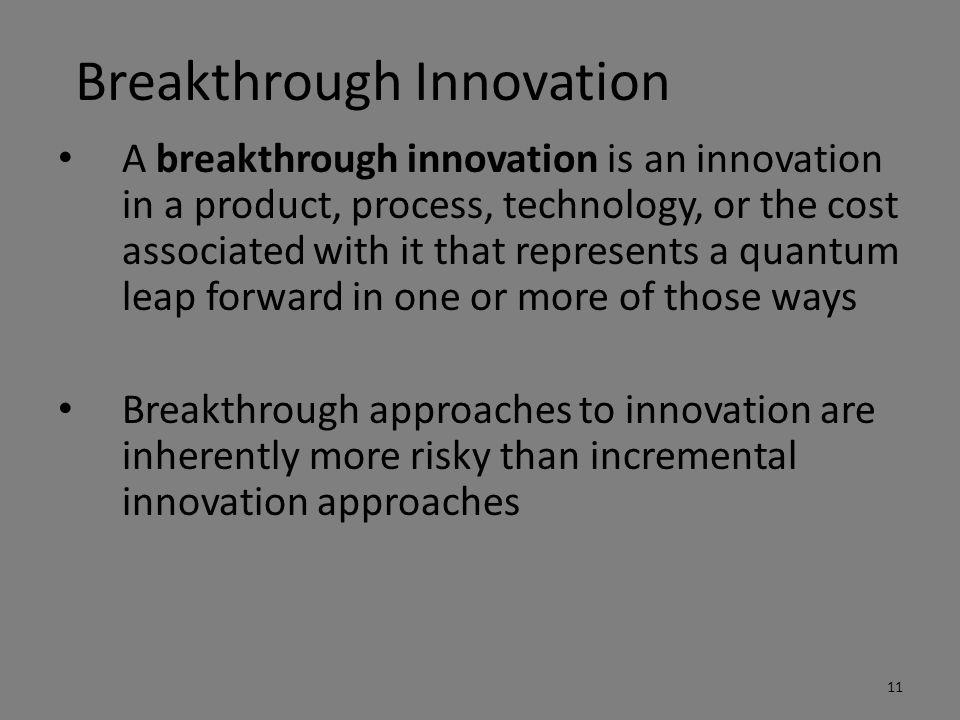 Breakthrough Innovation
