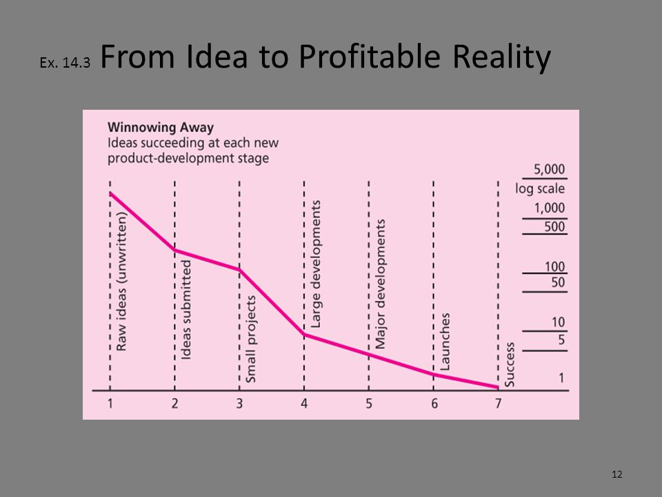 Ex. 14.3 From Idea to Profitable Reality