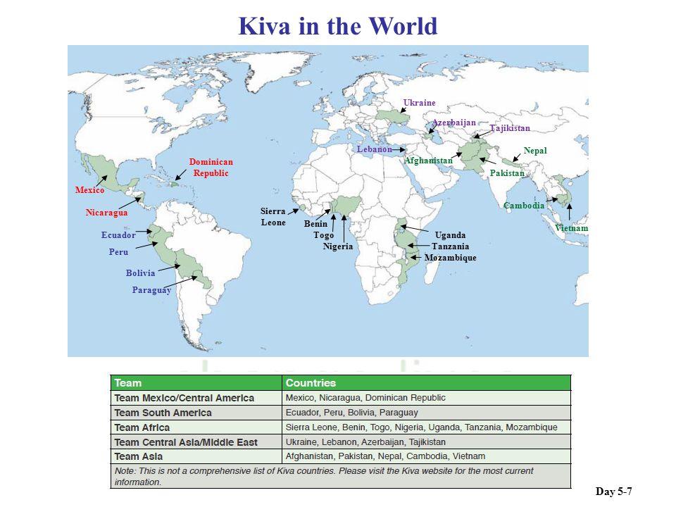 Kiva in the World Day 5-7 Ukraine Azerbaijan Tajikistan Lebanon Nepal
