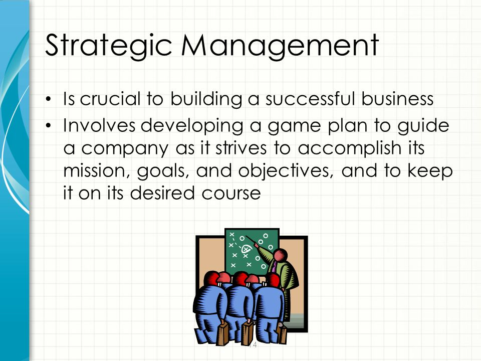 Strategic Management Is crucial to building a successful business