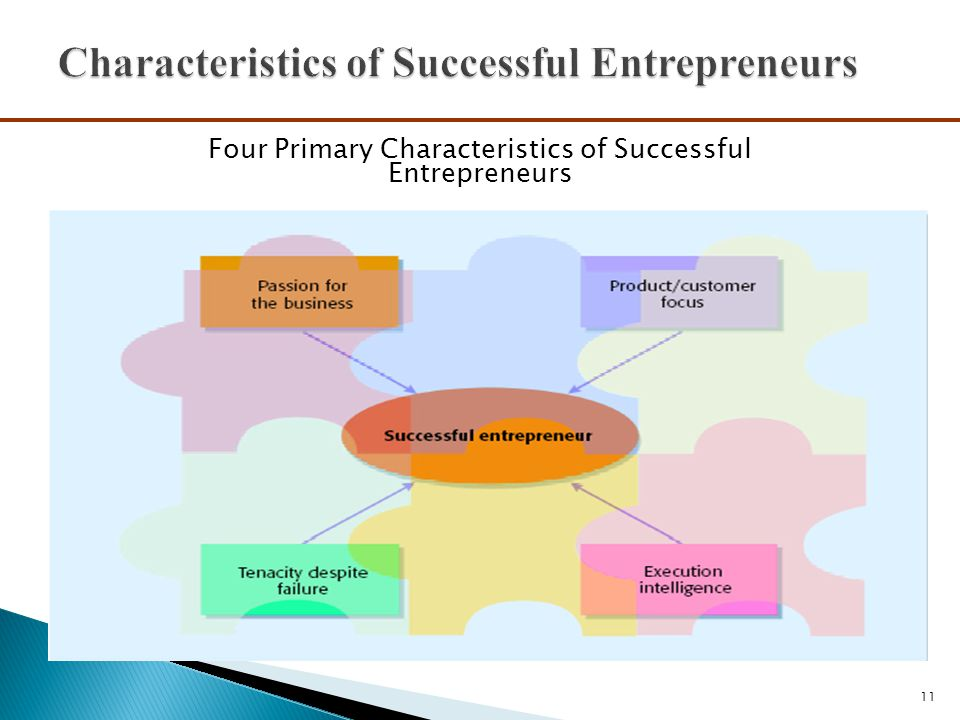characteristics of a successful entrepreneur What does it take to be a successful entrepreneur other than some few traits  that many successful entrepreneurs share, being a self-starter.