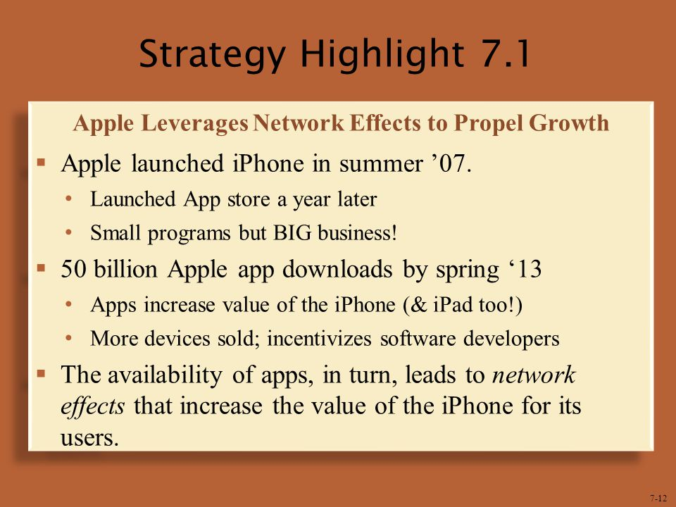 Apple Leverages Network Effects to Propel Growth