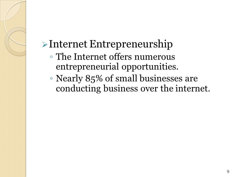 Internet Entrepreneurship