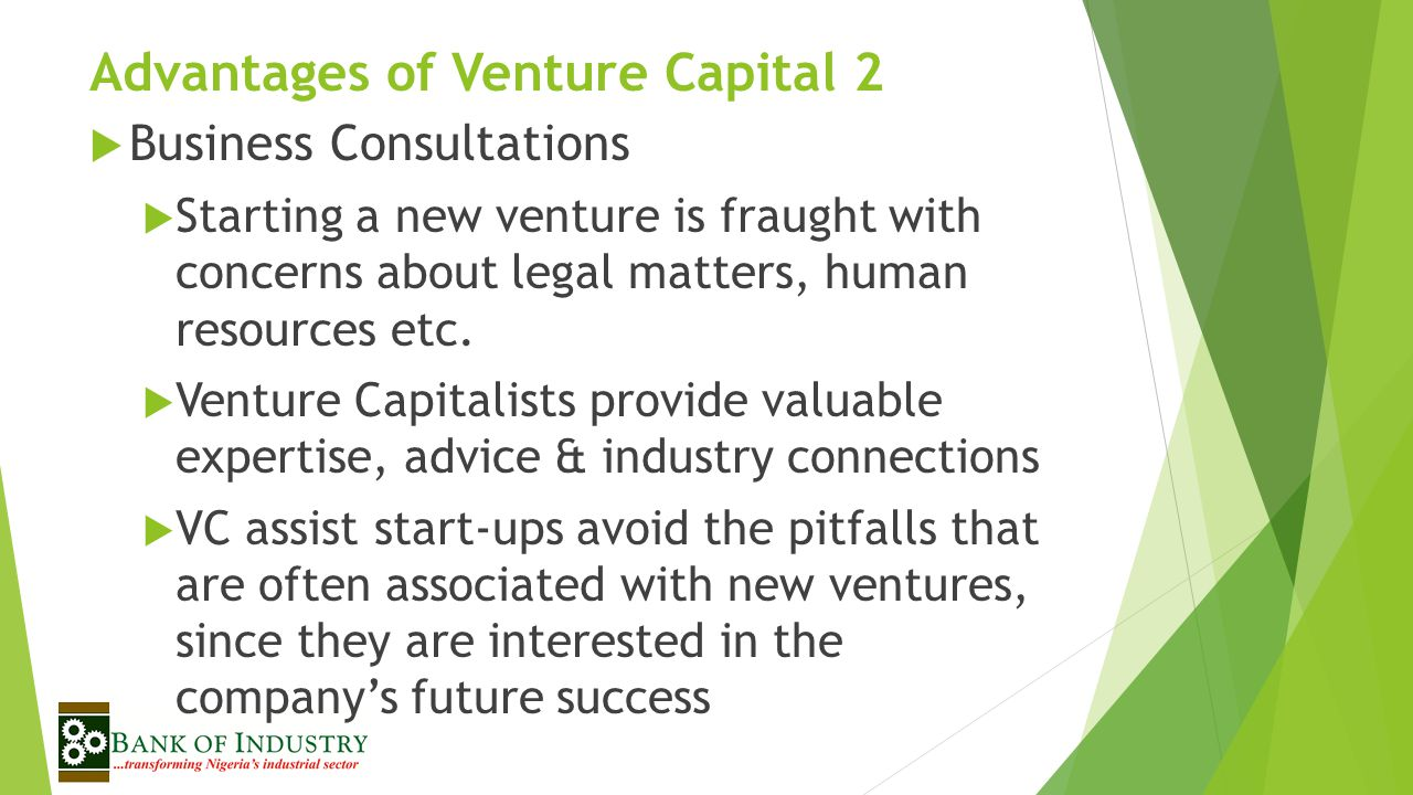 Advantages of Venture Capital 2