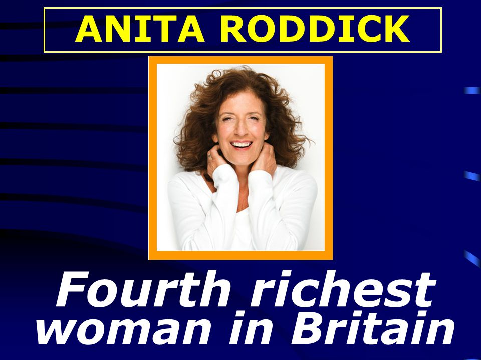 Fourth richest woman in Britain