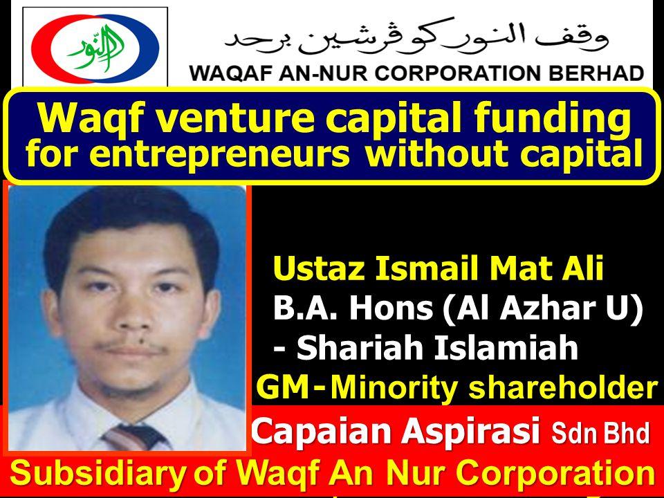 AMANAH Entrepreneur CAPAIAN ASPIRASI Sdn Bhd
