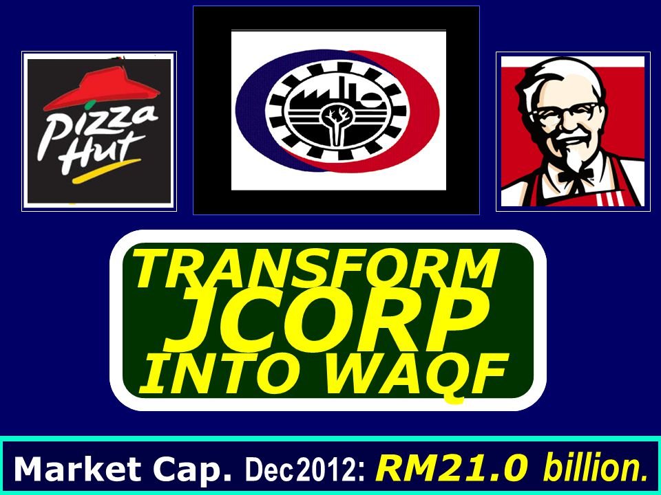 Market Cap. Dec 2012: RM21.0 billion.
