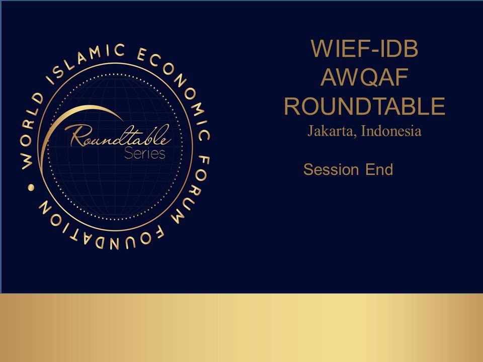 WIEF-IDB AWQAF ROUNDTABLE
