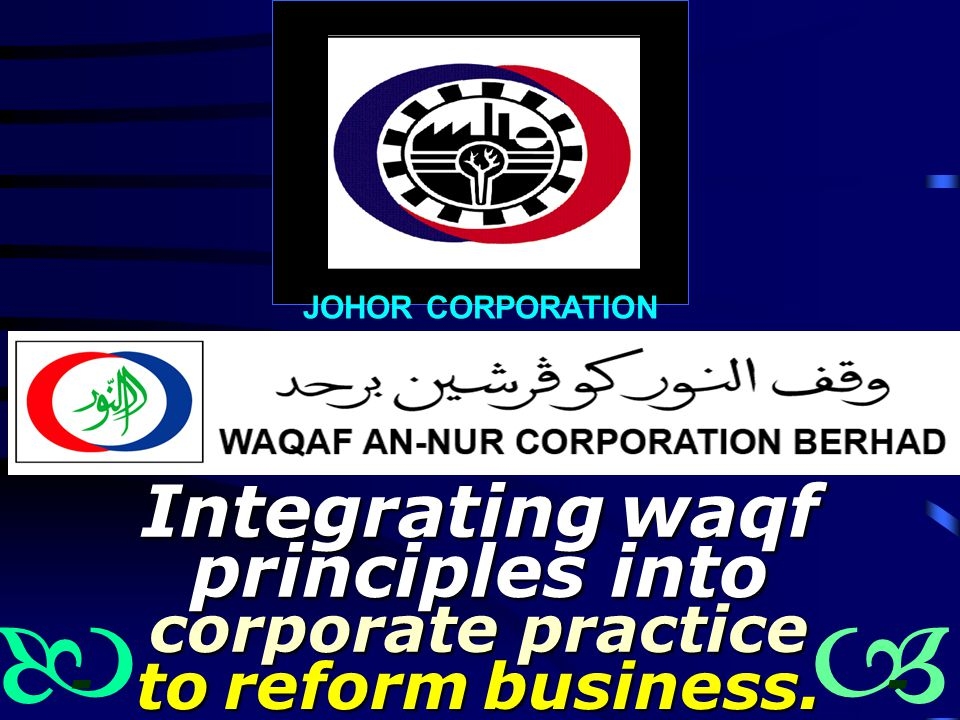 Integrating waqf principles into corporate practice