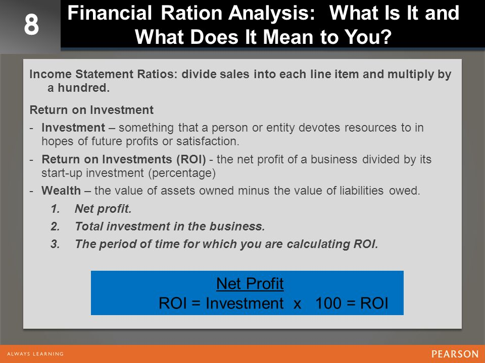 Financial Ration Analysis: What Is It and What Does It Mean to You