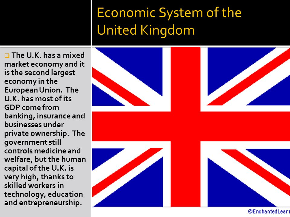 the economy of the united kingdom The economic history of the united kingdom deals with the economic history of england and great britain from 1500 to the early 21st century (for earlier periods see economy of england in the middle ages and economic history of scotland.