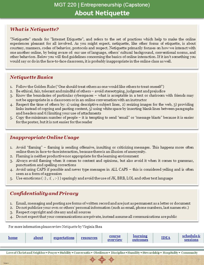 MGT 220 | Entrepreneurship (Capstone)