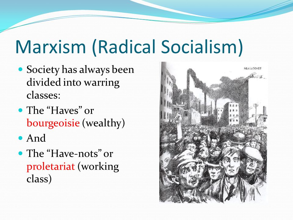 Marxism (Radical Socialism)