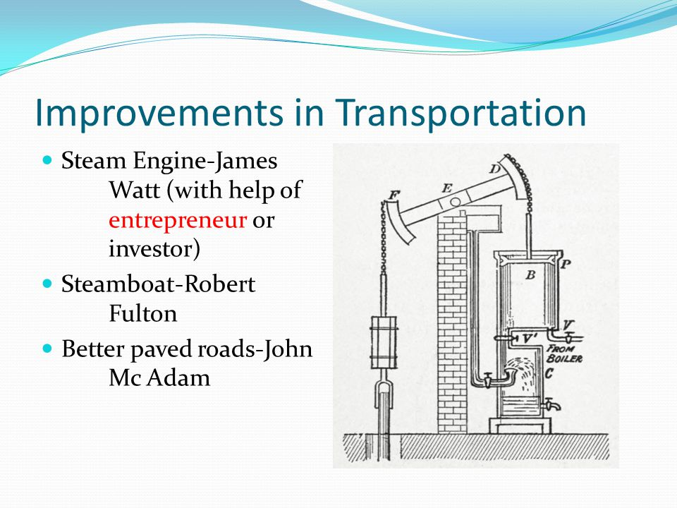 Improvements in Transportation