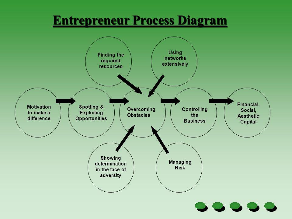 Entrepreneur Process Diagram